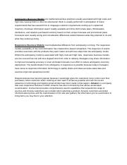 Performance & Business Models2.docx
