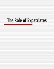Ch04_The Role of Expatriates.ppt