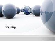 Chapter 11--Sourcing