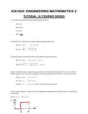 TUTORIAL 10-Fourier Series-Questions.pdf