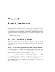 return Calculations notes.pdf