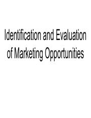 Identification and Evaluation of Marketing Opportunities.pdf