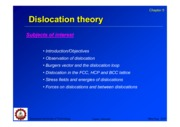 05_Dislocation_theory