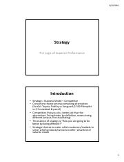 Strategy & Organization - UMOB