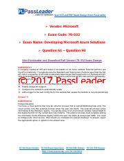 70 532 dumps pdf free 2017