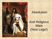 32 Absolutism