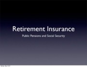 371B pensions and social security