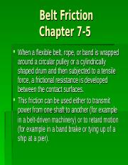 AM2-Chapter 7-Belt Friction-less4.ppt