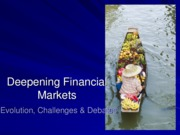 Week 5_Deepening Financial Markets