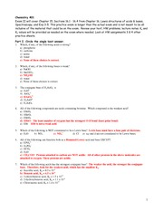 02 - Practice Worksheet for Ch 15, 16.1-16.3 Key