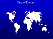 Chapter 5 - International Trade Theory