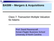 MA 2011 BSBA Class 7 Transaction Multiples (2)