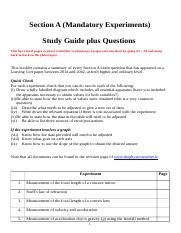 1. Section A Study guide plus questions.docx