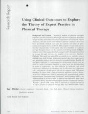 clinical outcomes Theory of Expert Practice (article).pdf