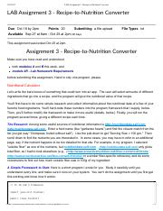 LAB Assignment 3 - Recipe-to-Nutrition Converter.pdf