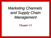 marketing ch 13