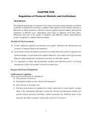 Chapter-5-Regulation of Financial Markets and Institutions.docx