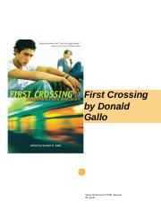 first crossing.docx
