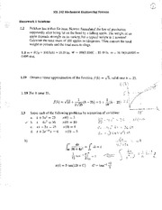 HW 01 Solutions