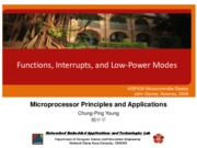 Lecture_11F_MSP430_06_Functions-Interrupts-and-Low-Power-Modes