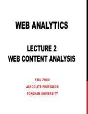 Lecture2 Content Analysis
