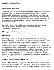 Leadership & Motivation Research Paper Starter - eNotes.pdf