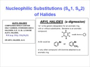 08 - Reactivity of Alkyl Halides