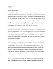 English Narrtive Essay