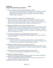 Ap bio chapter 18 guided reading answers answers 1 array reading guide 19 ap biology chapter 19 guided reading assignment rh coursehero com fandeluxe Image collections