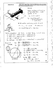 960_Mechanics Homework Mechanics of Materials Solution