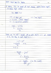 tutorial sheet 3&4 solutions