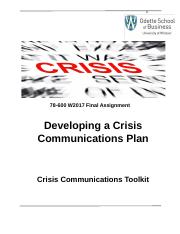 MoM Part 2 Crisis Communications Toolkit 78-600 W2017 TM.docx