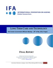 LONG TERM CARE AND TECHNOLOGY