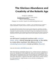 The-Robotic-Age