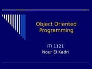 Lecture 1- Object Oriented Programming.ppt