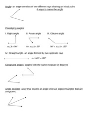 1.6_Angle_Pairs_Notes