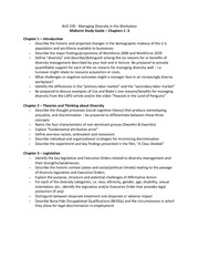 BUS 330 Midterm Study Guide 1 - 3