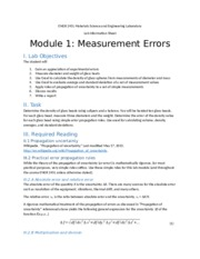 Module 1 Experimental Error Info Sheet_07