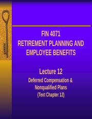 Lecture 12 - Deferred Compensation Nonqualified.pptx