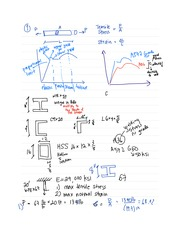 CEE 155 Discussion Notes