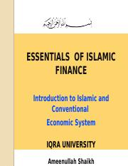 Chap 03 - Islamic Economics