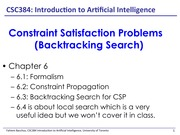Lecture: Backtracking Search