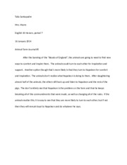 Animal Farm-Journal 5