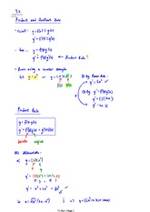 3.2 Product and Quotient Rule