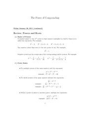 4B The Power of Compounding