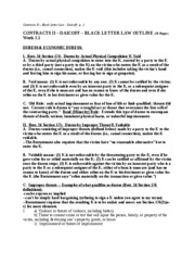 K2 BLACK LETTER LAW CUMULATIVE S06