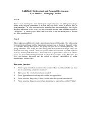 Group Task 1 - Managing Conflict.pdf