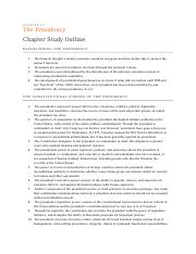 Chapter 13 outline