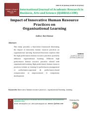 6  Impact of High-Performance Human Resource Practices On Organisational Learning.pdf