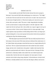 Research Rough Draft Paper